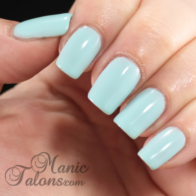 FingerPaints Gel Polish Frolic and Floral Swatch