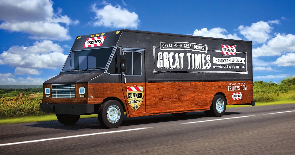 Tgi Friday Food Truck