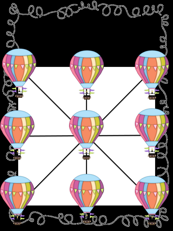 First grade wow hot air balloon unit for Air balloon games