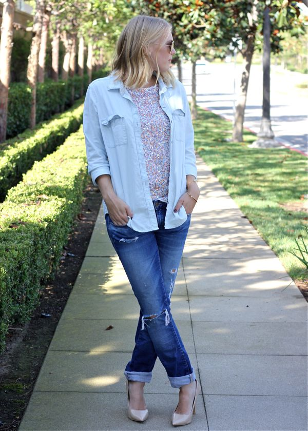 Shae Roderick, OC Blog, Sequin, denim, outfit, look