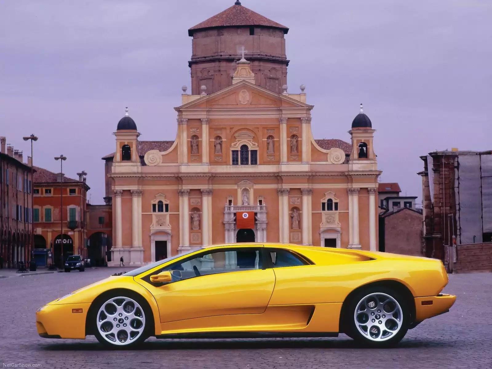 Hình ảnh siêu xe Lamborghini Diablo 6.0 2001 & nội ngoại thất