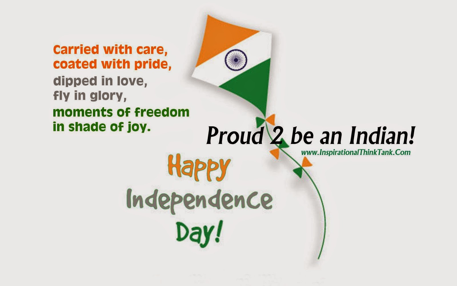 Happy Independence Day - Proud 2 be an Indian!