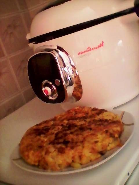 tortilla de patatas cookeo