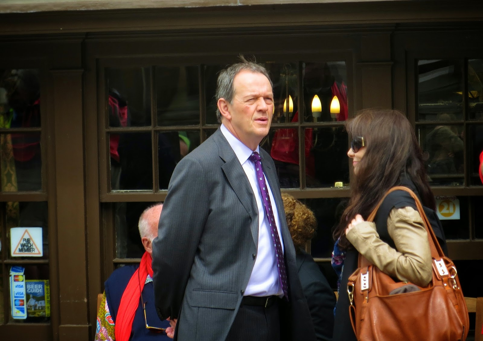 and Curiouser: They're Back -- Kevin Whately Filming Lewis in Oxford
