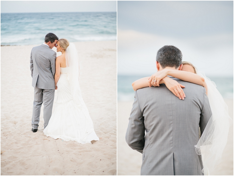 bride and groom florida beach wedding photography