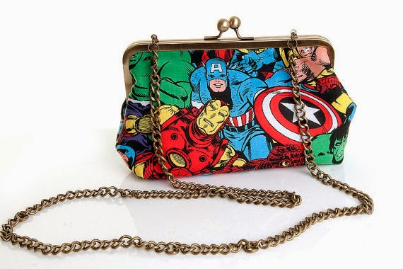 The Avengers clutch - Lucy's Designs - Hello, Handbag