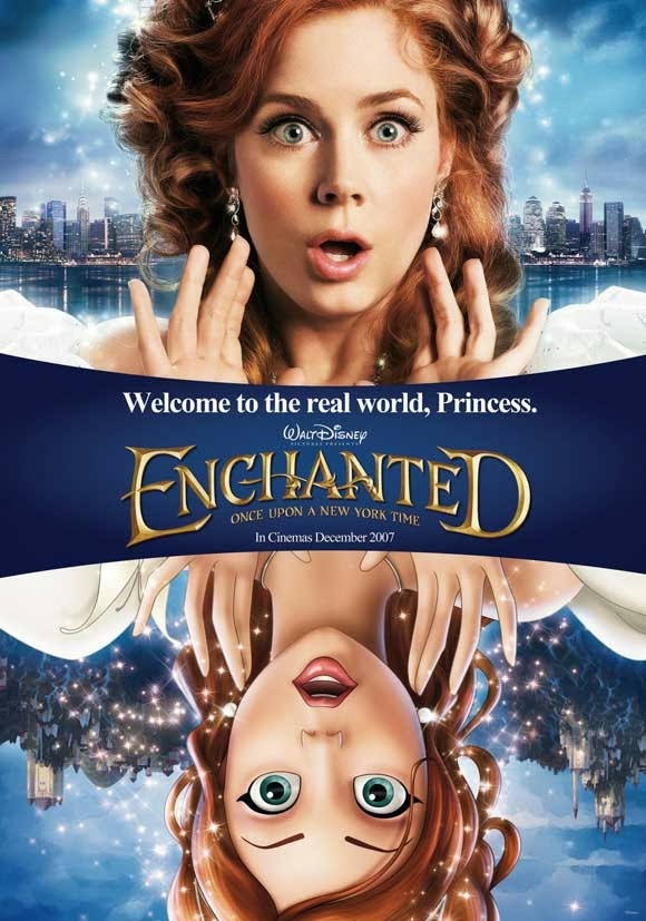 Enchanted 2007 animatedfilmreviews.blogspot.com