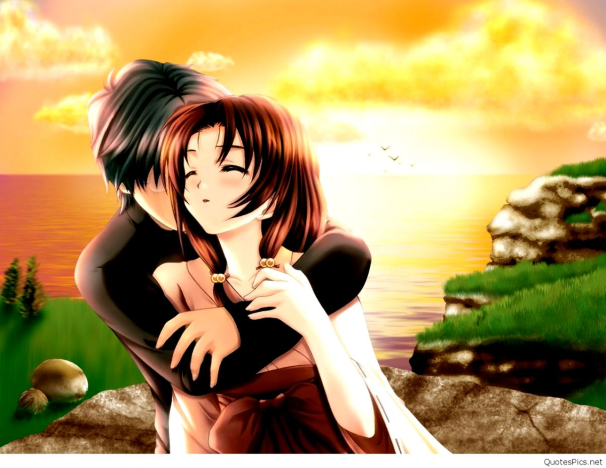 Cartoon Wallpaper Romantic Couple Image Wallpaper Collections