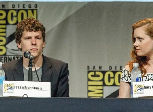 Jesse Eisenberg e suas comparações na Comic-Con