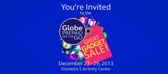 Globe Prepaid Great Gadget Sale