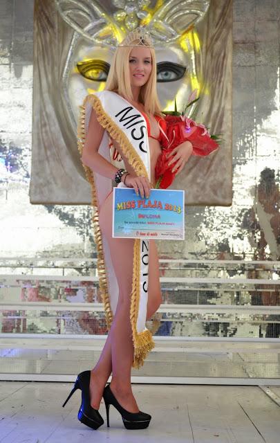Izabela Voina din Sighisoara este Miss Plaja 2013