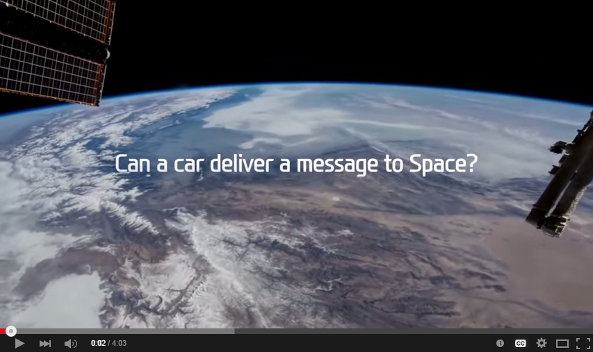 How You Send a Message to Space