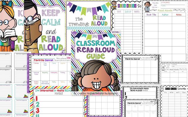 https://www.teacherspayteachers.com/Product/Editable-Read-Aloud-Guide-For-Elementary-2002294