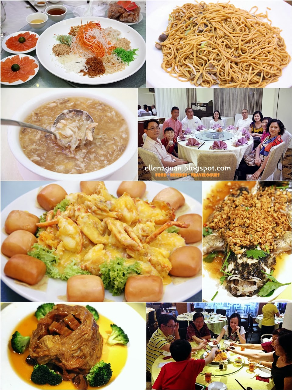 Cuisine paradise singapore food blog recipes reviews and travel with recipes our 2014 lunar new year reunion dinners forumfinder Image collections