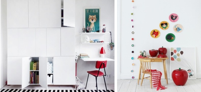 ... en Juul Lifestyle for Kids: Inspiratie..... Rood in de kinderkamer