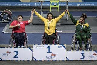 Picuiense representa o Brasil e é medalha de ouro na Copa do Mundo de Halterofilismo Paralímpico