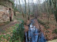 La riera de Gualba des del Pont del Molí d'en Figueres