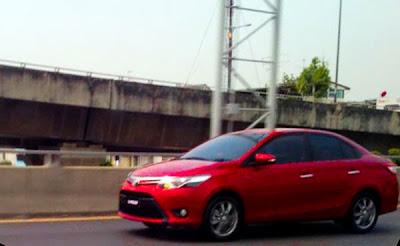 Spyshot : Toyota Vios Serba Baharu Dijumpai Di Thailand?