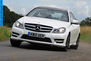 Mercedes c180 front view - صور مرسيدس c180 من الخارج