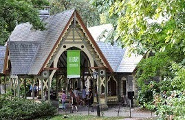 A fairy tale house in Central Park by Pedicab Tours