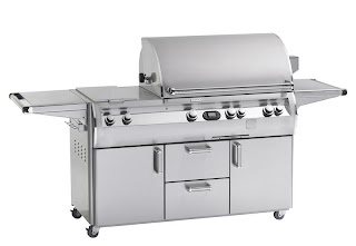 Cabinet Cart Grill