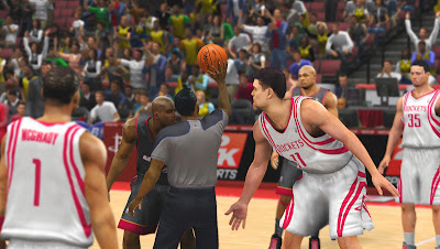 NBA 2K13 Shaq vs Yao Ming Rockets