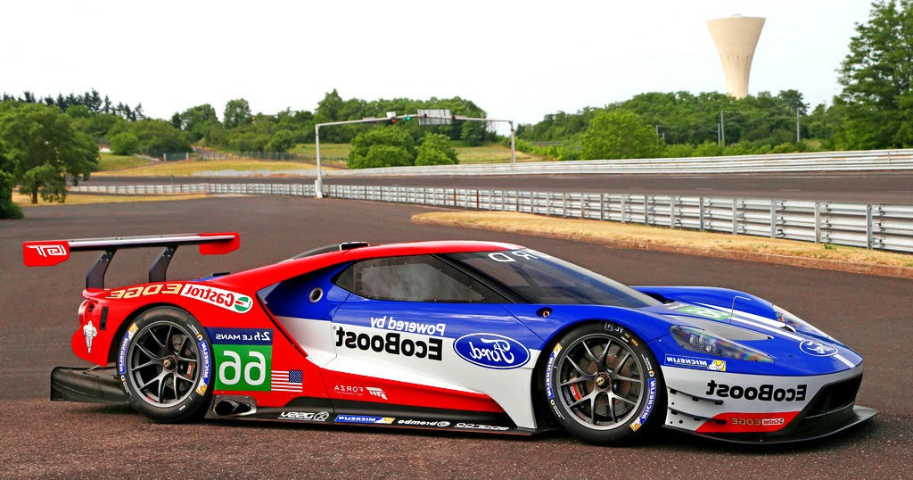 Sport cars 2016 ford gt le mans race car for Garage automobile le mans