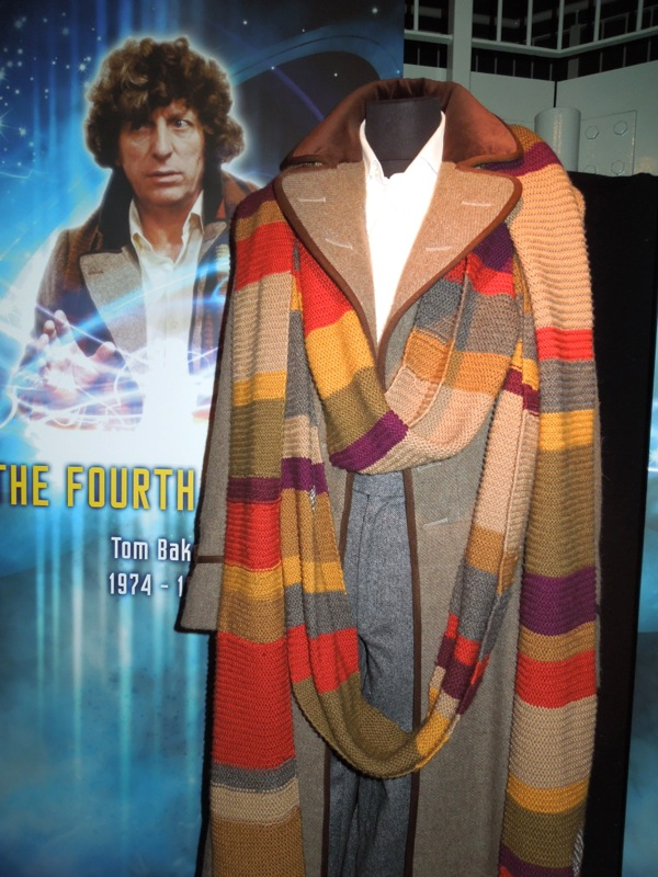Tom Baker Fourth Doctor Who scarf