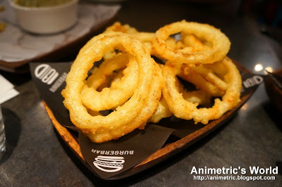 Onion Rings at Burger Bar