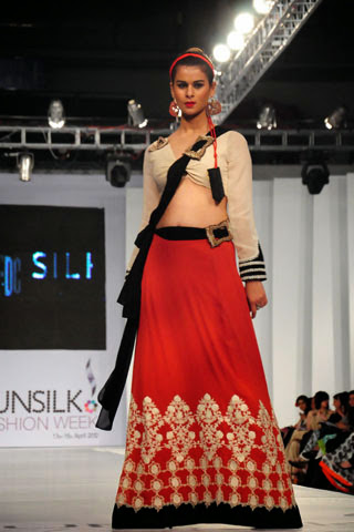 Fashion She9 Nickie Nina at PFDC Sunsilk Fashion Week 2012