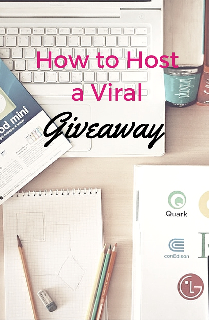 how to host a viral giveaway
