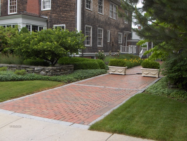 Brick driveway image driveways