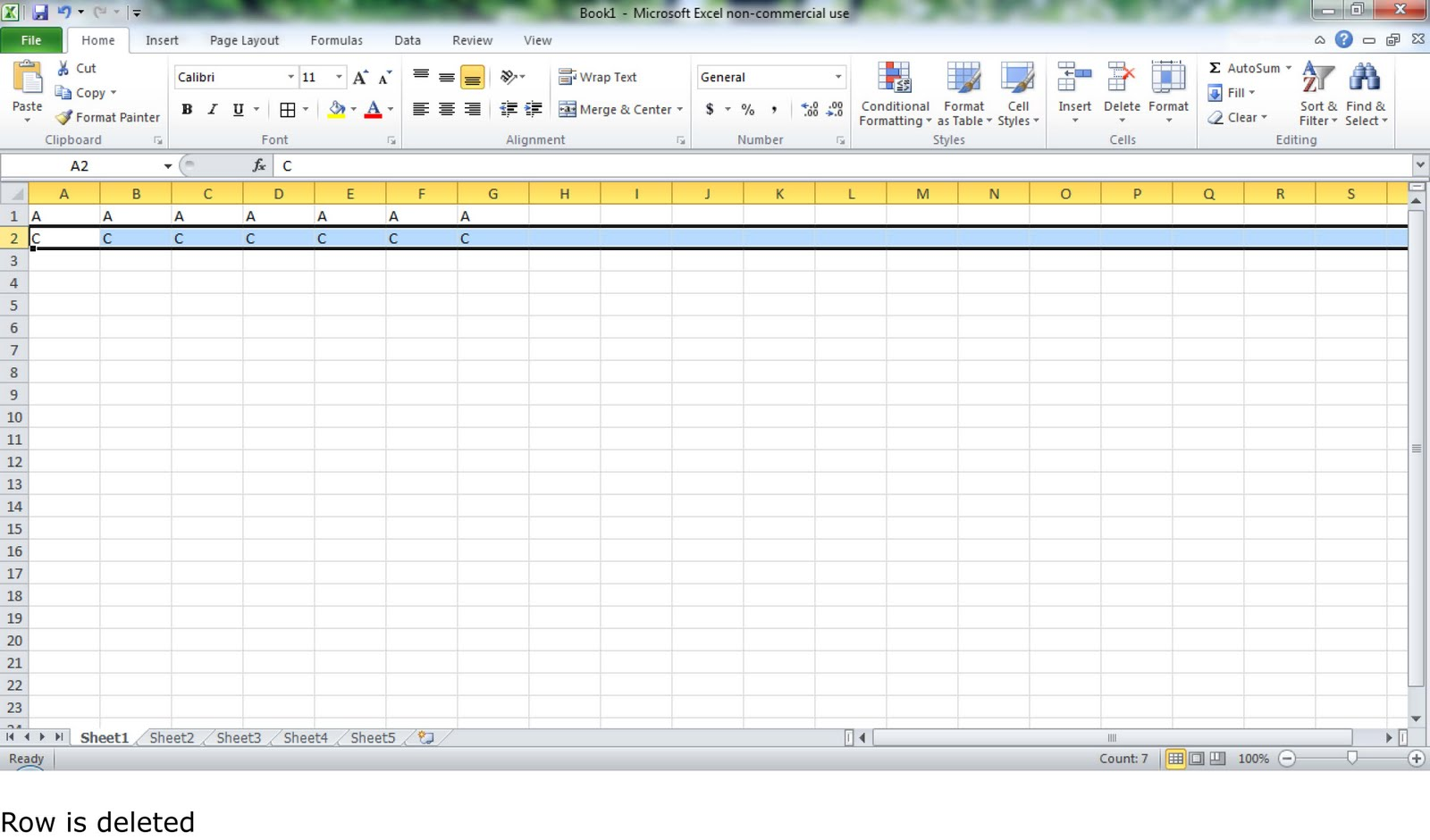 Crazy On Excel Delete Columns Or Rows