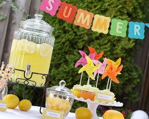 Summer Party Ideas The Party Fetti Blog