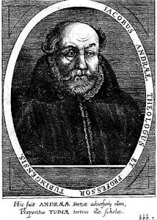 + Jakob Andreae, Theologian +