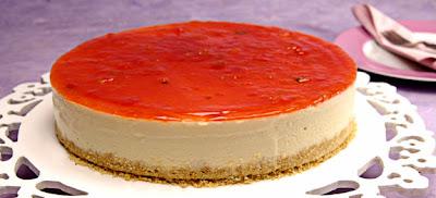 Receita de Torta Cheesecake