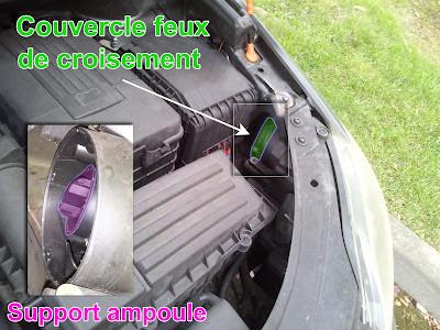 Golf 5 plus entretien m canique golf v plus changer for Changer ampoule garage