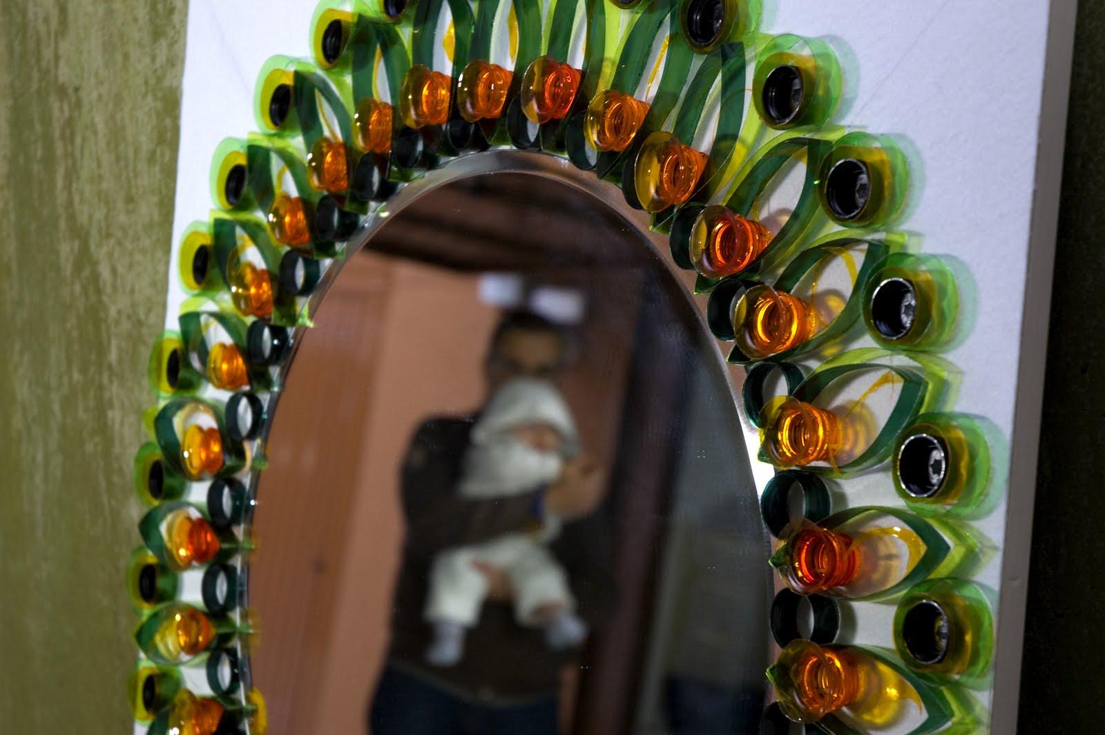 Ork 39 idea atelier tutorial cornice per specchio con - Specchio di plastica ...