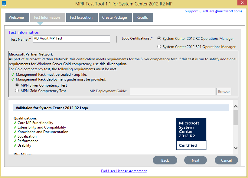 Kevin Greene It Blog Scom Microsoft Platform Ready Test Tool For