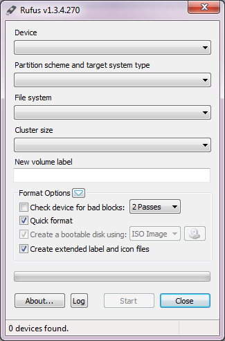 how to create uefi bootable usb windows 7 using rufus