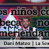 """Dani Mateo explica el sistema de becas: """"Los niños con beca prácticamente no meriendan"""""""