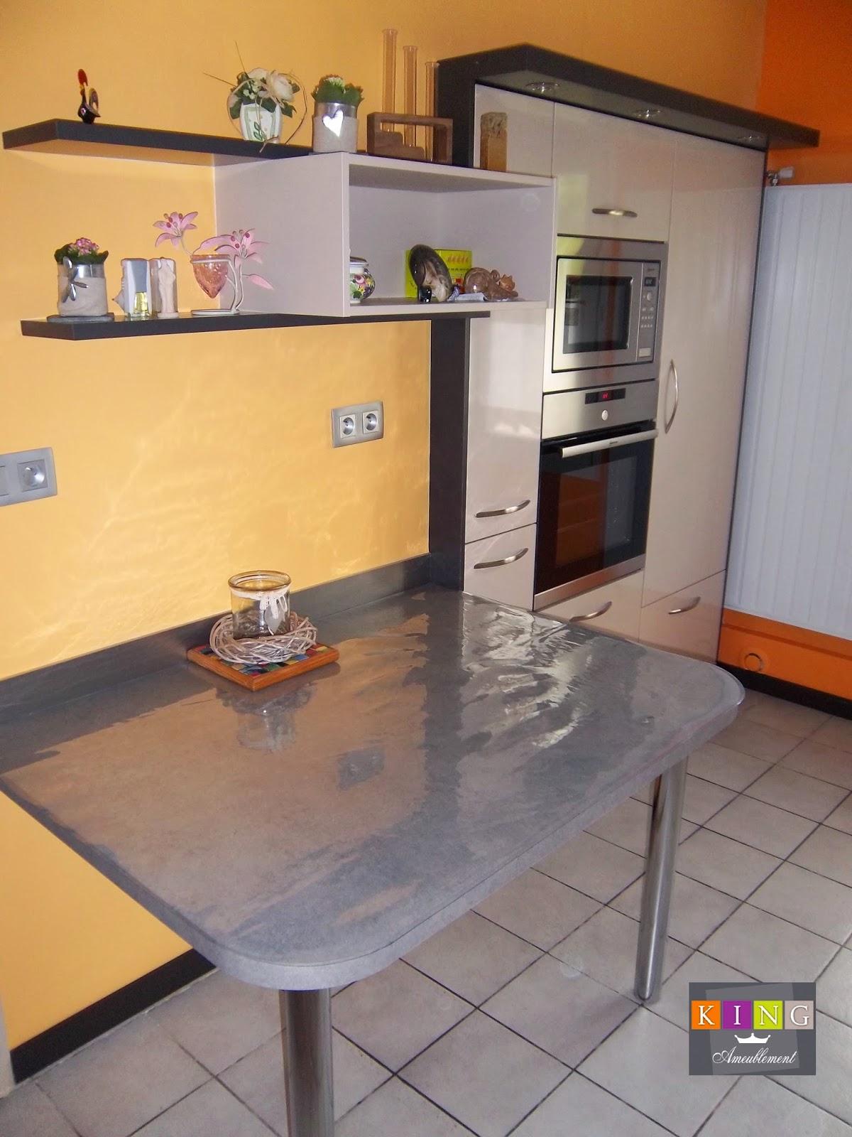 Table Gain De Place Cuisine Meuble Cuisine Petit Espace