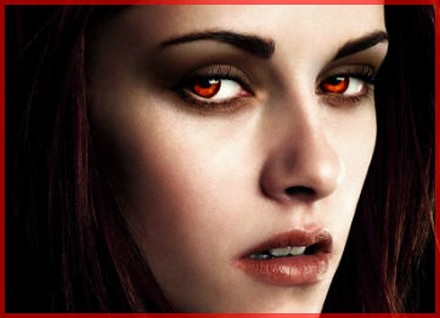 Twilight bella vampire makeup