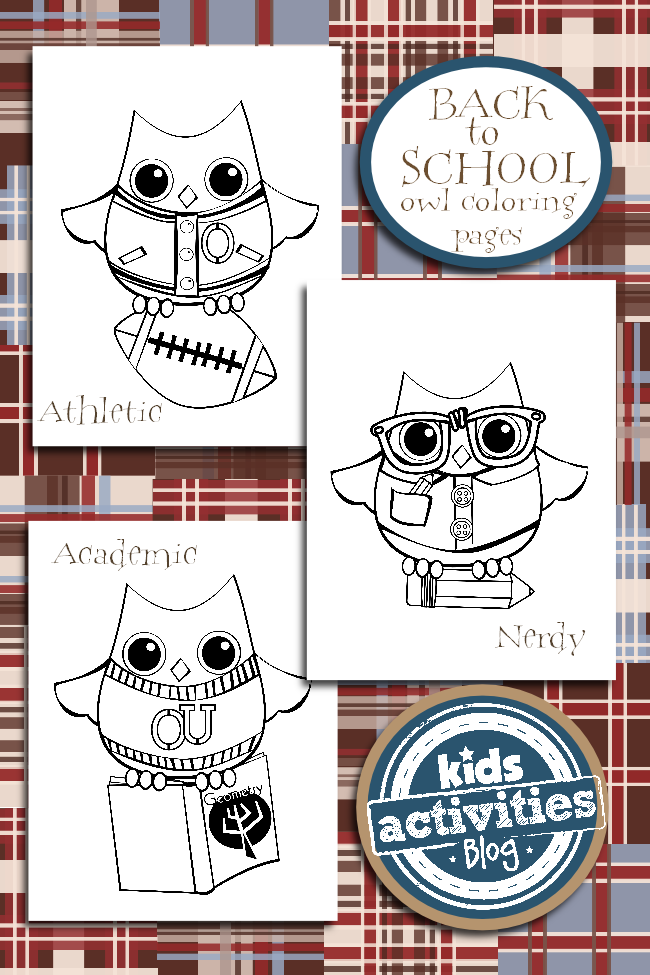 FREE coloring pages from Kids Activities Blog