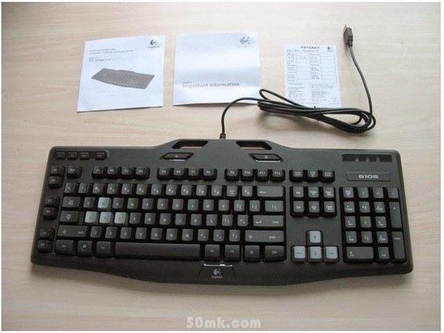 Logitech G105 - Bàn phím chơi game cũ mà chất cho game thủ Việt