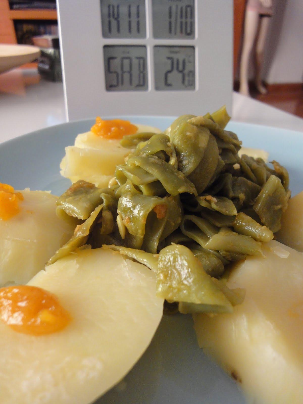 Clases de cocina zaragoza jud as verdes con patata y alioli casero - Cursos de cocina zaragoza ...