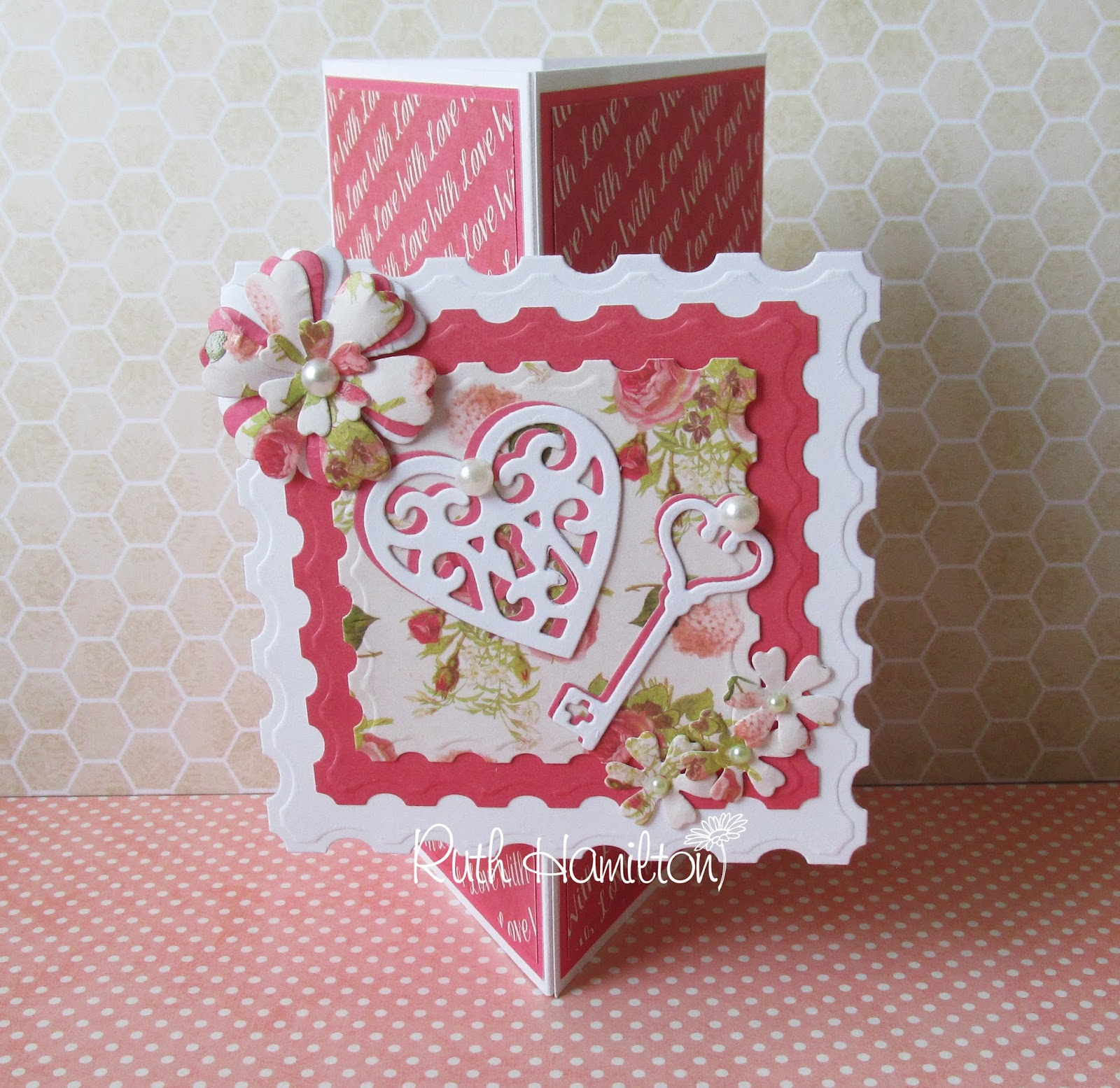 A passion for cards how to make a trimcraft love story triangle card how to make a trimcraft love story triangle card kristyandbryce Image collections