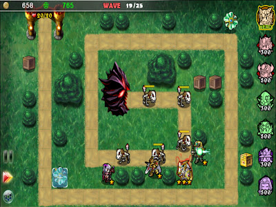 Fantasy Defense HD - Tower Defense ที่เรียบง่ายแต่สนุก