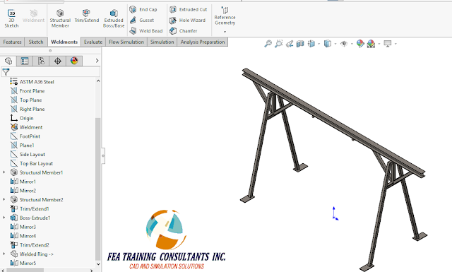 weldment solidworks
