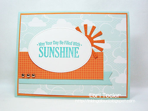 May Your Day Be Filled with Sunshine-designed by Lori Tecler/Inking Aloud-stamps from My Favorite Things